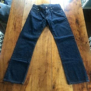 GAP Selvedge Jeans with Buckle in Back